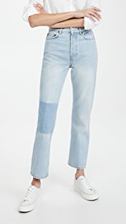 Reformation Patch Cynthia Jeans