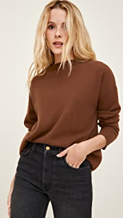 Reformation Oversized Cashmere Crew Sweater