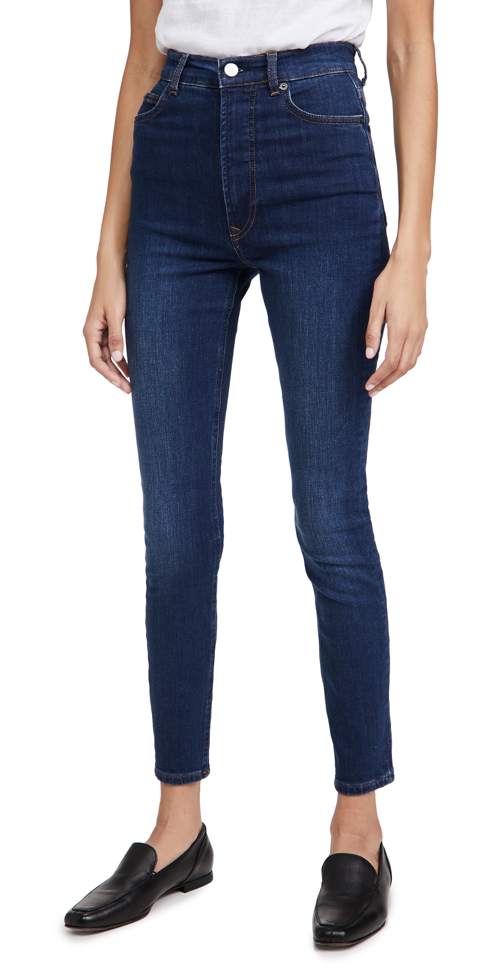 Reformation Harper Ultra High Rise Skinny Jeans
