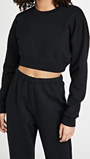 Reformation Hunter Crop Sweatshirt