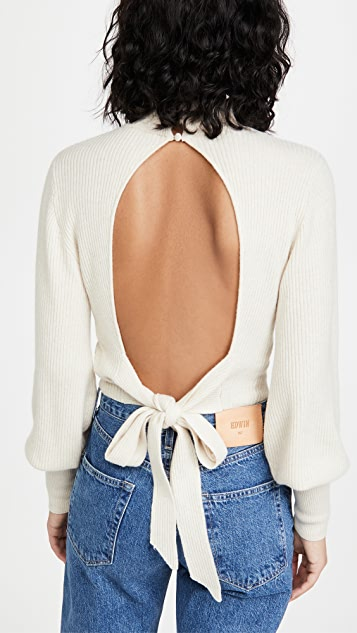 Reformation Osteria Cashmere Sweater