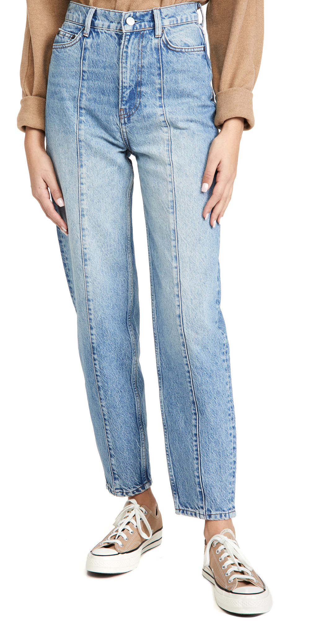 Reformation Kris Relaxed Curve Seamed Jeans