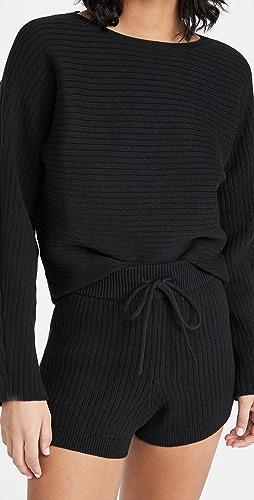 Reformation - Cort 短毛衣和短裤套装