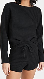 Reformation Cort Short Sweater and Shorts Set