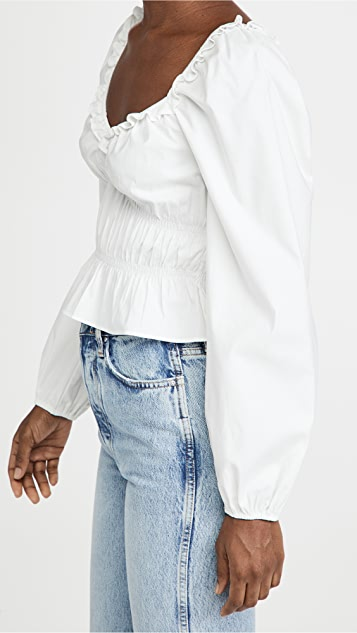 Reformation Cropped Fern Top