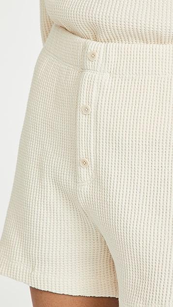 Reformation Dixon 华夫格短裤