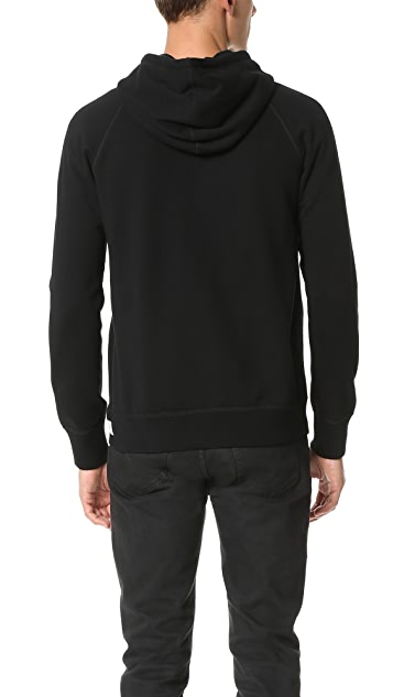Reigning Champ Mid Weight Terry Zip Hoodie