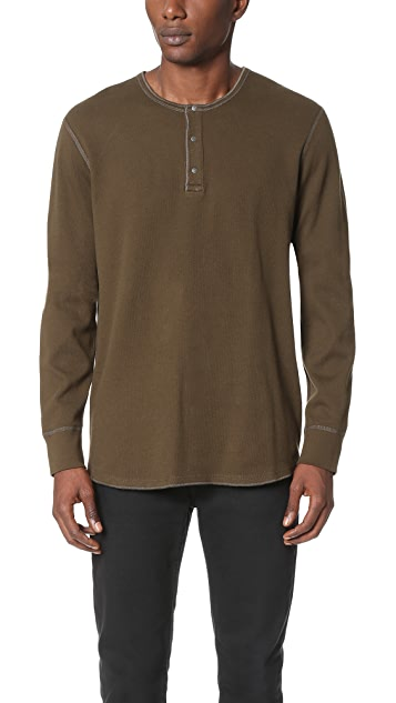 Reigning Champ Long Sleeve Henley