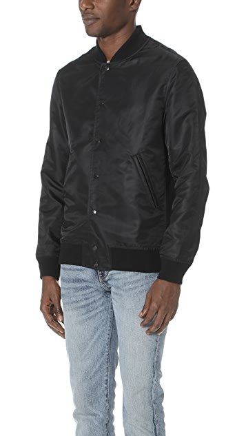 Reigning Champ Satin Stadium Jacket