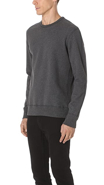 Reigning Champ Mid Weight Classic Crew Neck Sweatshirt