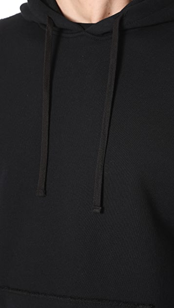 Reigning Champ Side Zip Pullover Hoodie