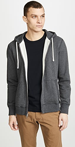 Reigning Champ - Mid Weight Full Zip Hoodie