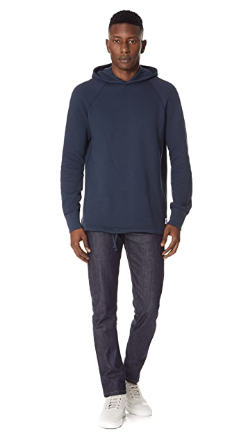 Reigning Champ Mesh Double Knit Hoodie
