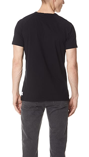 Reigning Champ Ring Spun Short Sleeve Henley