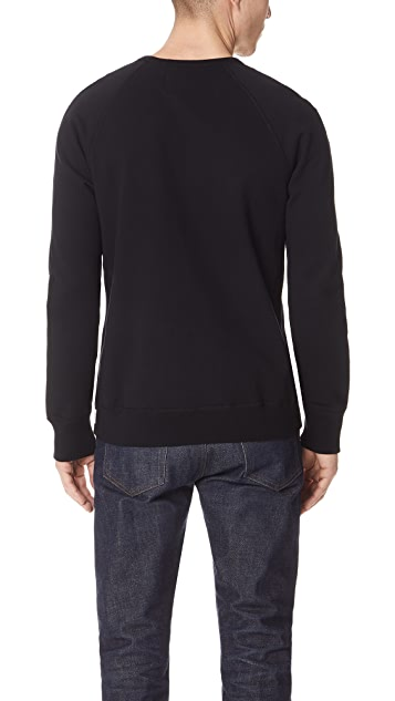 Reigning Champ Midweight Terry Varsity Sweatshirt with Crew Neck