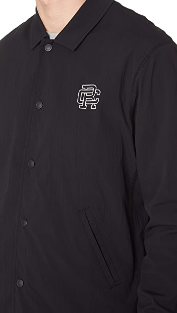 Reigning Champ Stretch Nylon Coaches Jacket