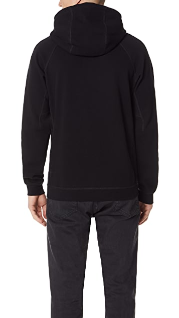 Reigning Champ Bonded Interlock Pullover Hoodie