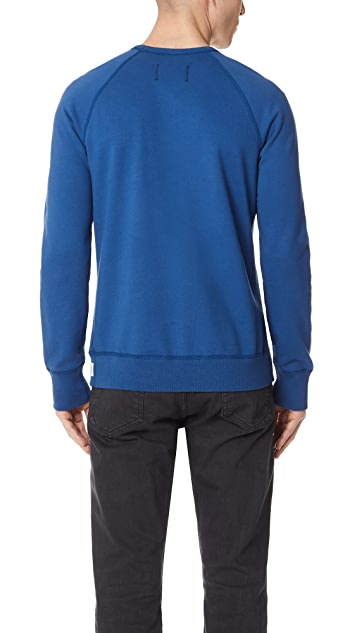 Reigning Champ Midweight Terry Classic Sweatshirt with Crew Neck