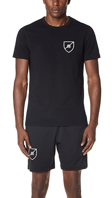 Reigning Champ Shield Logo T-Shirt
