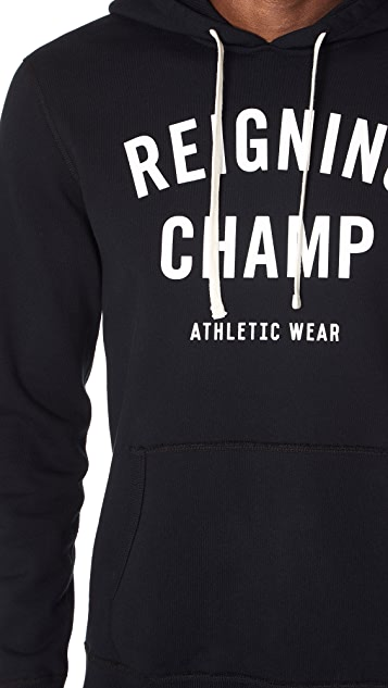 Reigning Champ Gym Logo Hoodie