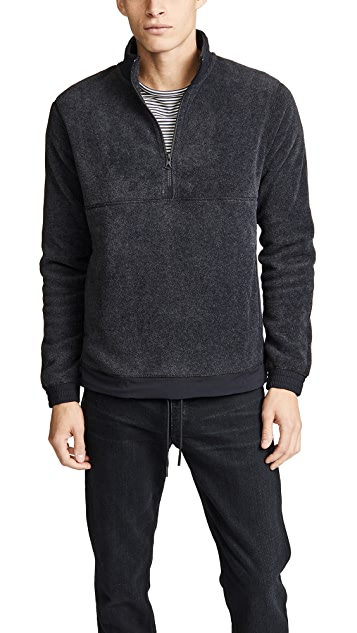 Reigning Champ Polartec Fleece Half-zip Pullover | EAST DANE