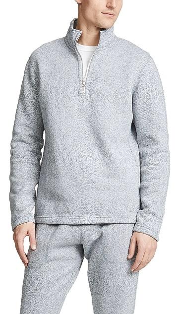 Reigning Champ Tiger Fleece Half Zip Pullover