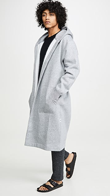 Reigning Champ Tiger Fleece Hooded Robe