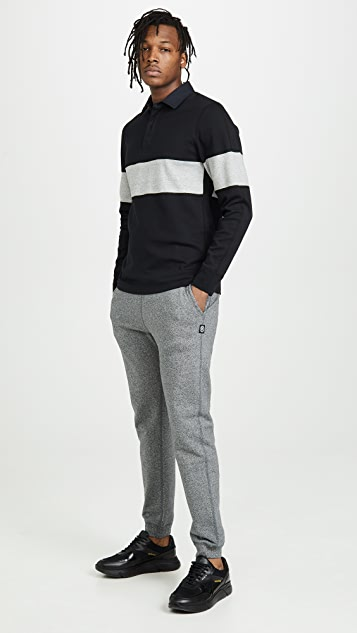 Reigning Champ Long Sleeve Rugby Shirt