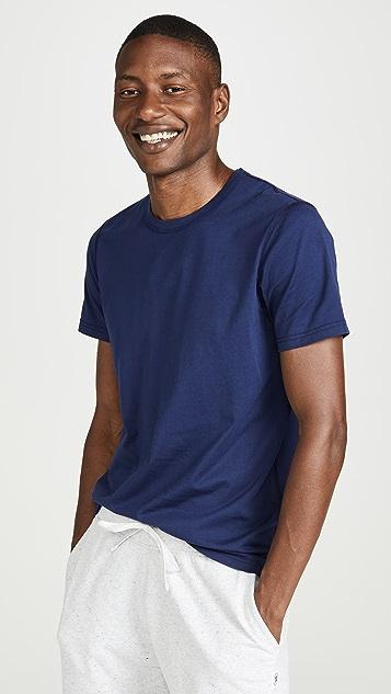 Reigning Champ Short Sleeve Pima Jersey Tee Shirt
