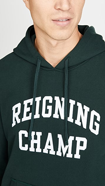 Reigning Champ Mid Weight Terry Ivy League Pullover Hoodie