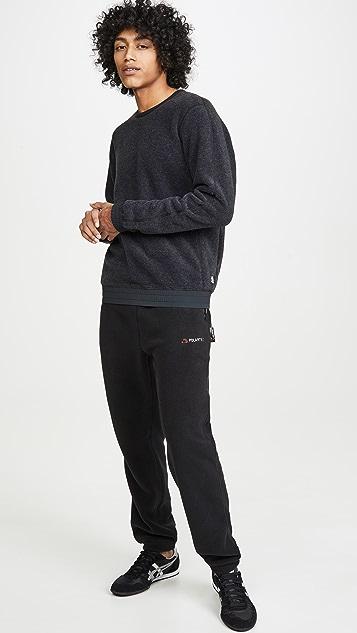 Reigning Champ Polartec Fleece Crew Neck Sweatshirt