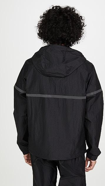 Reigning Champ Hooded Nylon Full Zip Jacket