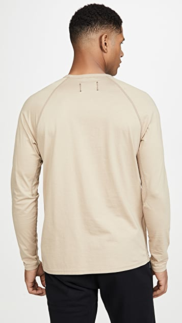 Reigning Champ Pima Jersey Long Sleeve T-Shirt