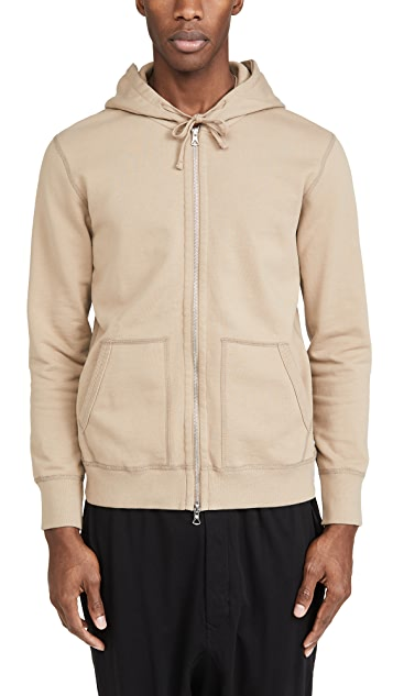 Reigning Champ Midweight Terry Full Zip Hoodie