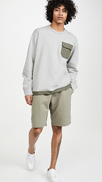 Reigning Champ Midweight Terry Sweatshorts