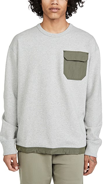 Reigning Champ Midweight Terry Relaxed Crew Neck Sweatshirt