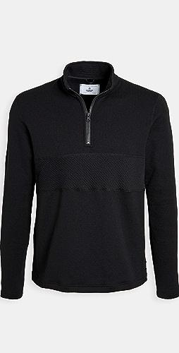 Reigning Champ - Polartec Fleece Half Zip Mockneck P.O. Sweatshirt