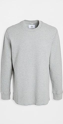 Reigning Champ - Waffle Knit Sweater