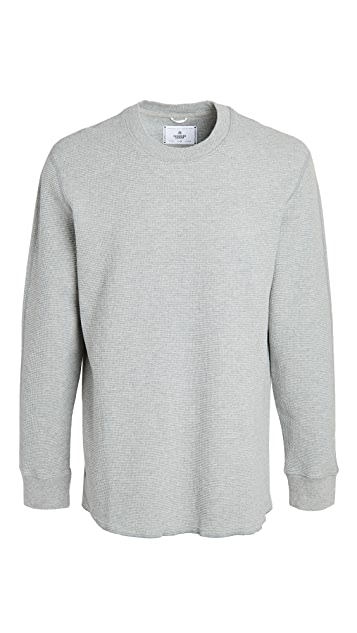 Reigning Champ Waffle Knit Sweater
