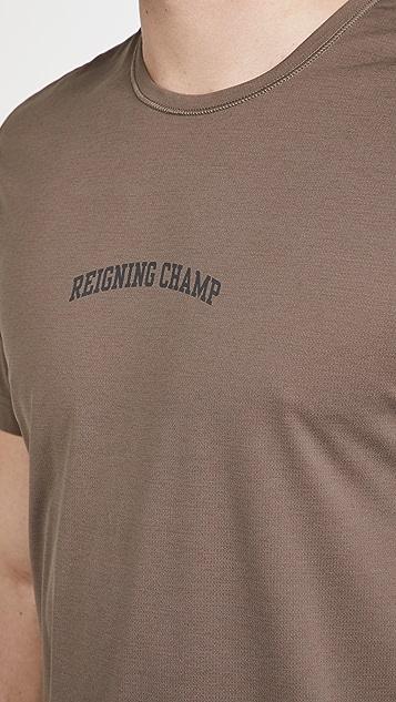 Reigning Champ Logo Training Shirt