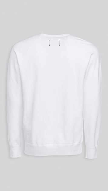 Reigning Champ Lightweight Terry Crew Neck Pullover