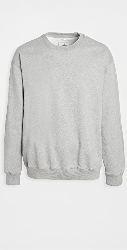 Reigning Champ - Terry Relaxed Fit Crew Neck Sweatshirt