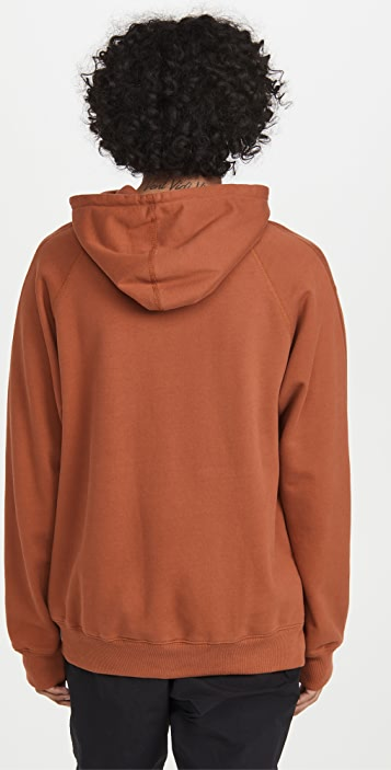 Reigning Champ Relaxed Pullover Hoodie