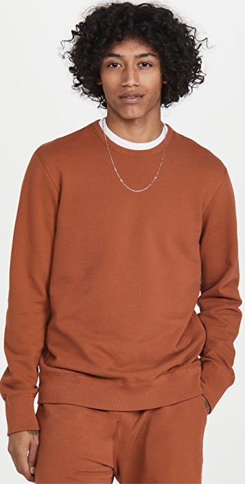 Reigning Champ Crew Neck Sweatshirt