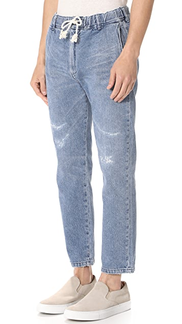 Remi Relief Denim Easy Pants