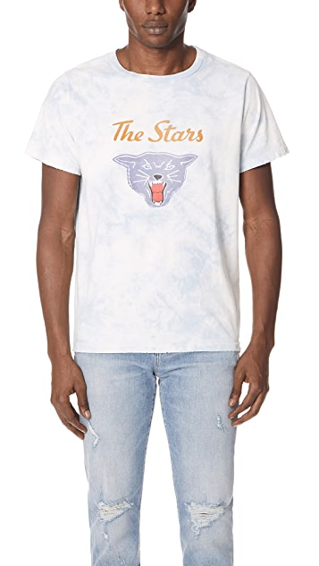 Remi Relief Indigo Tie Dye Stars Tee ...