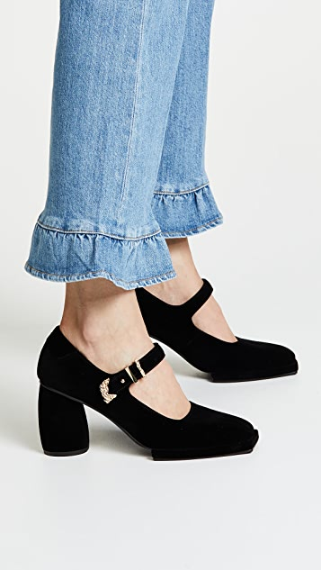 Reike Nen Square Mary Jane Pumps