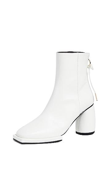Reike Nen Square Ribbon Half Boots