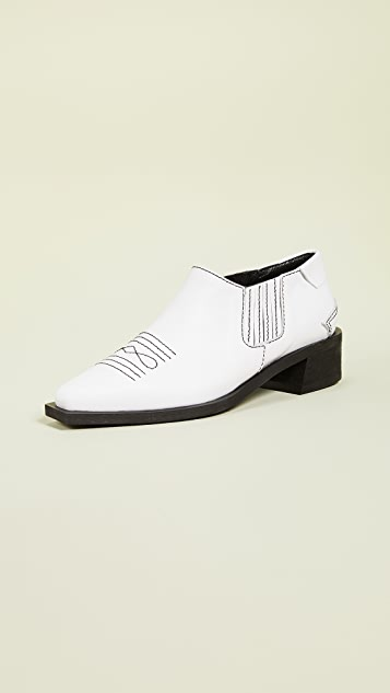 Western Shootie Boots by Reike Nen