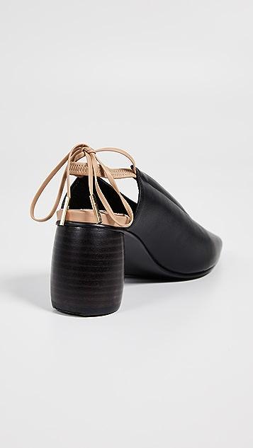 Reike Nen Туфли-лодочки с лентами и ремешком на пятке